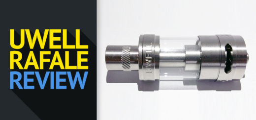 Uwell Rafale Tank Review