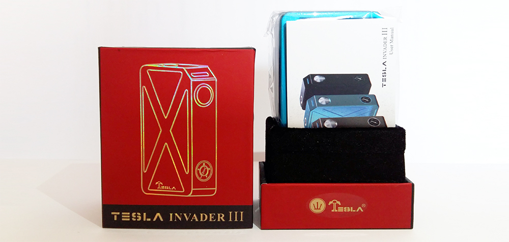 Tesla Invader III packaging