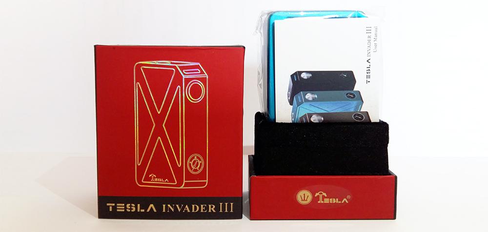 Tesla Invader III packaging