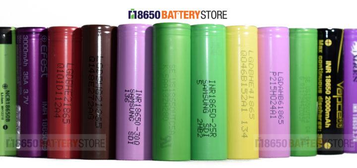 Best 18650 Battery for Vaping