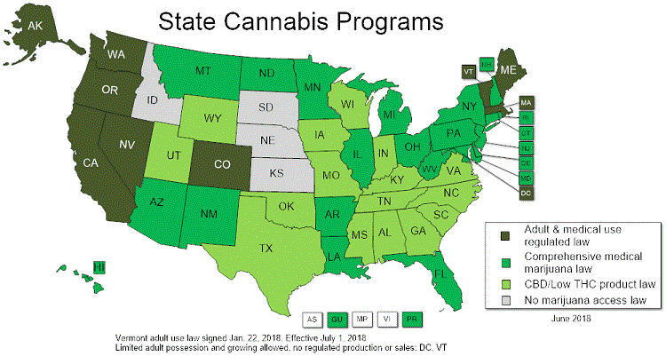 Medical Marijuana Laws in the US