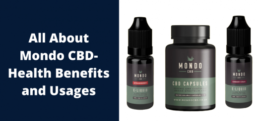 Mondo CBD-Health Benefits