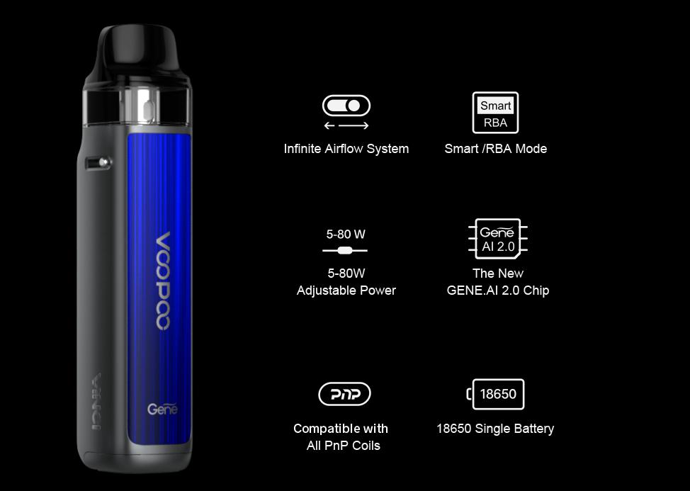 Voopoo VINCI X 2 80W Pod Mod Kit