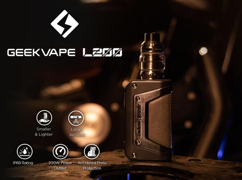 Geekvape L200 Aegis Legend Starter Kit Review