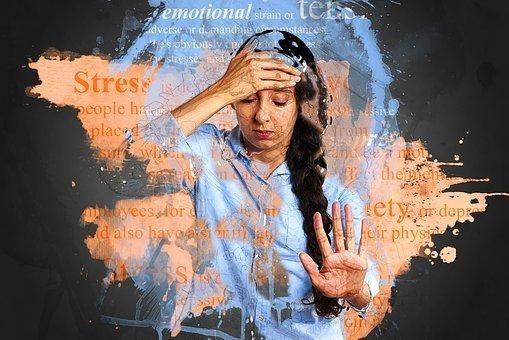 Stress, Anxiety, Depression, Unhappy